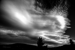 Cloudy day in Alsace, France. (boomer_phil) Tags: nuages noiretblanc bw monochrome clouds soir evening nikon d500 flickrelite beautifulexpression france