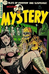 Mr Mystery Comic Book (kevin63) Tags: vintagecheese facebook lightner mystery horror lurid cover magazine monster mummy woman distress cheesy pulp reprint seventies 70s garish slavering ghouls mrmystery comicbook tape linen eerie tales tomb egyptian sarcophagus fictional suspense