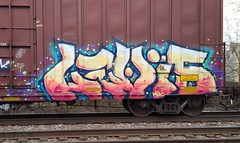 LEVIS (Chicago City Limits) Tags: levis graffiti chicago freight train freighttrain