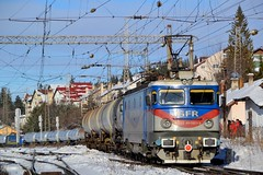 Predeal freight (Nikolai Kozarski) Tags: gfr predeal train freight brazi campina brasov cluj romania le craiova