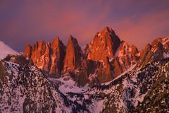 Imperial (D Breezy - davidthompsonphotography.com) Tags: landscape nature easternsierra sunrise mtwhitney light color travel nikon d800e firstlight