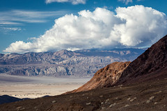 Below Hell's Gate (Kirk Lougheed) Tags: california cottonwoodmountains deathvalley deathvalleynationalpark grapevinemountains usa unitedstates cloud clouds landscape mountain nationalpark outdoor sky