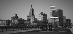 Downtown Providence (again) (Marcos Larancuent) Tags: risd riverside blackandwhite providence downtown