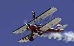 On the Top Wing (dcnelson1898) Tags: 2017mcasyumaairshow yuma arizona desert winter mcasyumaairshow planes outdoors gregsheldonairshows 450superstearman biplane wingwalker patriotic aviation