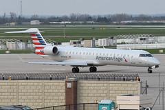 SkyWest Airlines (American Eagle) // Bombardier CRJ-701ER // N756SK (cn 10221) // KDAY 4/14/17 (Micheal Wass) Tags: day kday daytoninternationalairport daytonairport jamesmcoxdaytoninternationalairport oo skw skywest skywestairlines americaneagle canadair crj700 canadaircrj700 bombardiercrj700 crj701er canadaircrj701er bombardiercrj701er crj7 n756sk aerotagged aero:airline=skw aero:man=bombardier aero:model=crj aero:series=700 aero:special=er aero:tail=n756sk aero:airport=kday
