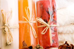 Three rolls of soap stood on end (kaannc7) Tags: aroma aromatic bath bathroom beauty body care health healthcare hygiene meditation natural potpourri pure purity relax relaxation salt scent soap soothe spa therapy towel tranquil treatment wellbeing wellness