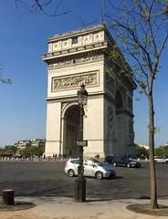The Arc de Triomphe (♔ Georgie R) Tags: arcdetriomphe paris france