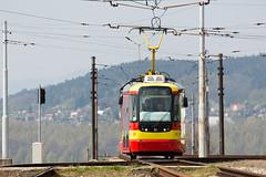 VarioLF.E Nr. 315 (rengawfalo) Tags: variolfe vario bahn strasenbahn tram tramway urbanrail publictransport most tschechien czechrepublic sporvogne tranvias