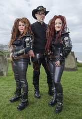 Borg meets Westworld at Whitby (RedPlanetClaire) Tags: whitby gothic weekend goths alternative steampunk borg westworld cyberpunk punk