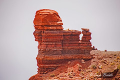 I see faces in the rocks! (littlebiddle) Tags: utah rocks moab backroads