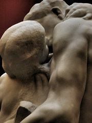 Scottish National Gallery: Rodin's Kiss (Diamond Geyser) Tags: sculpture art kissing edinburgh marble thekiss scottishnationalgallery augusterodin