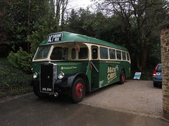 LEYLAND BUS (Andrew Mansfield - Sheffield UK) Tags: bus coach devon nationaltrust leylandbus leylandtiger greenwayhouse ahl694 agathachristebus