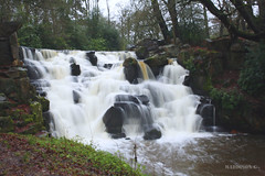 Man Made (Garry Asher Maddison) Tags: man virginia waterfall buckinghamshire made waters