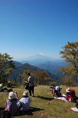 The top of the Mt.Nabewari (Napolitan) Tags: mountain japan kanagawa nabewariyama