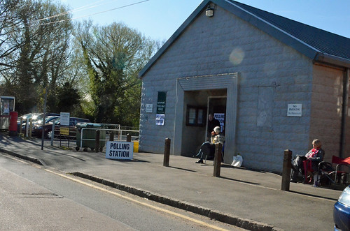 Polling Station on Station Road