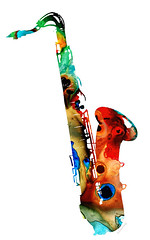 Colorful Saxophone by Sharon Cummings (BuyAbstractArtPaintingsSharonCummings) Tags: saxophone sax saxophones music musical musicalinstrument instrument musicinstrument jazz jazzband bands horn horns brass classy classical rock rockandroll rockroll roll blues bluessongs song songs musicalnotes sharoncummings buy forsale art prints paintings online musicroom musicteacher room teacher director nightclub bar bars dance danceclub night city newyorkcity cities neworleans chicago