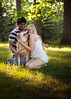 Yesh, Lindsey and Charlie! (T4YLOR) Tags: family light sunset 2 summer dog love nature grass backlight canon happy 50mm engagement couple natural bokeh mark candid smiles charlie ii backlit lindsey 18 available yesh mrk