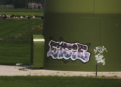 graffiti (wojofoto) Tags: holland graffiti nederland netherland trackside wojofoto easie