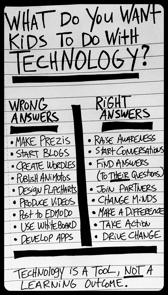 Technology is a Tool by William M Ferriter, on Flickr