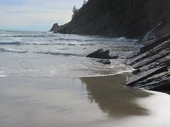 06-28-13 Oregon 511 Oswald West SP Short Sand Beach Smuggler's Cove (Chicagoan in Ohio) Tags: oregoncoast oswaldweststatepark smugglerscove shortsandbeach