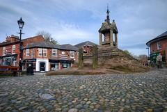 Lymm Cross (Rich3012) Tags: uk england town village cross cheshire market britain centre butter cobbles hdr lymm