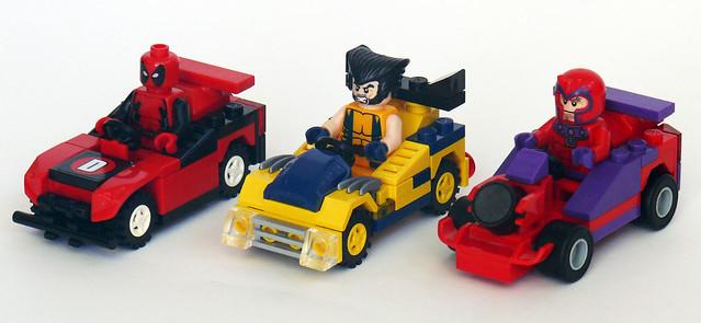 樂高 Super heroes racers MOC作品
