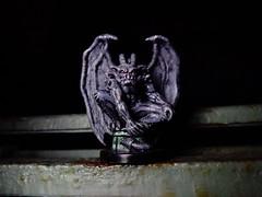 The Gargoyle Awakens (ridureyu1) Tags: toy toys actionfigure miniature gargoyle rpg dungeonsanddragons dd dungeonsdragons roleplayinggame 35 4e tsr 4thedition wizardsofthecoast wotc toyphotography stonegargoyle 3rdedition sonycybershotsonycybershotdscw690 gargoyleawakens earthelementgargoyle