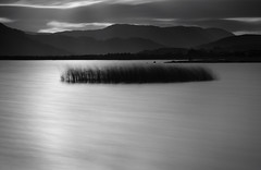 Evening Light (annemcgr) Tags: longexposure lake water monochrome clouds blackwhite le fineartphotography loughmask annemcgrath