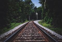 (JasonRosePhotography) Tags: railroad train landscape 50mm virginia nikon tracks historic fauquier uploaded:by=flickrmobile flickriosapp:filter=nofilter