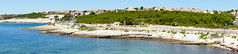 Sausset Les Pins Panoramic (Rovers number 9) Tags: sea france sony august saussetlespins a77 2013 sonya77 aug2013 sonyaf1650f28ssm
