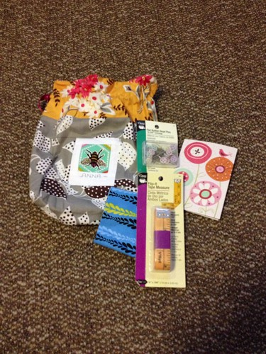MQG swap. I love my goodies!!! Thank you Mary!