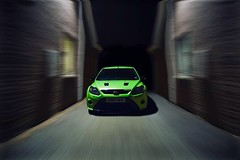 Meanwhile in a dark alleyway.. (Eric C. (DSO)) Tags: ford car night speed canon photography focus alleyway rig beast 5d rs supercar bhp rsoc originalfilter uploaded:by=flickrmobile dedicatedshoutout flickriosapp:filter=original