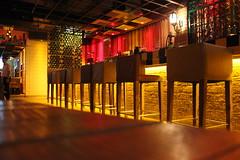 Bar . King Street New Delhi (SouLSteer.com) Tags: new food beer bar circle table disco lights pub place chairs burger delhi inner drinks alcohol connaught shobhit gosain soulsteer soulsteercom