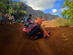 Favorite photo. (jenschuetz) Tags: ocean trip travel vacation terrain mountain holiday green beach nature water beauty clouds outdoors island hawaii sand paradise tour hills kauai tropical atv lush kipuranch