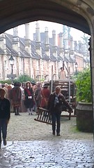 """Photos from 2nd Phase 1st Unit Filming of """"New Worlds"""" St Andrews St & Vicars Close Sept 24th 2013 (nialpearce) Tags: tv wells somerset medieval witches filmset channel4 vicarsclose newworlds film4 standrewsstreet hotfuzz"""