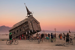 Church Trap (Mike Orso) Tags: art church festival photography photo unitedstates desert image nevada picture burningman blackrockcity trap 2013 mikeorso churchtrap