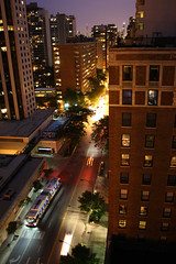 Up On The Roof (Flint Foto Factory) Tags: city autumn roof friends urban chicago building bus brick tower fall beautiful skyline night lights evening illinois marine apartments cta nocturnal traffic belmont top sears saturday bbq september barbecue land rearwindow intersection hitchcock condos distance sheridan willis condominiums chicagotransitauthority 2013
