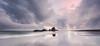 Mirage (Nick Twyford) Tags: longexposure sunset sea newzealand seascape reflection beach weather clouds blacksand nikon rocks waves wideangle nopeople auckland nz northisland westcoast whatipu colourimage leefilters 1024mm d7000 ninepinrock lee09nd lee06gndhard phottixgeoone