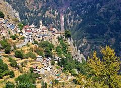 Roubion. (Tinou61) Tags: mountain montagne alpes landscape village walk paca paysage mercantour randonnée alpesmaritimes ruby3 roubion