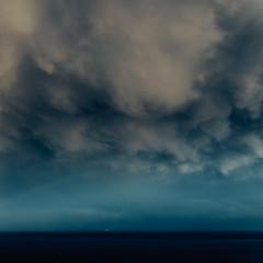 It Is Come Back (sebistaen) Tags: gibraltar blue boat cloud sea sebistaen sébastienlemercier sebistaennet