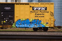 KERSE (TheLost&Found) Tags: urban art mill minnesota train photography graffiti paint painted exploring minneapolis explore boxcar graff burner freight amfm ttx kerse thelostandfound