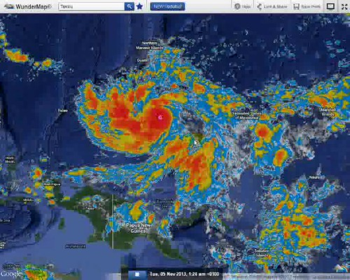 Cat 5 Typhoon Yolanda Haiyan geoengineered by Electro Magnetic Clouds Part I