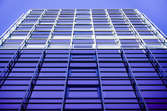 Through a window in the sky it sees (@sage_solar) Tags: city blue windows light sky white abstract building london squares structure highrise skyscrapper