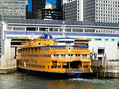 Staten Island Ferry (StefoF) Tags: nyc ny newyork river pier manhattan fiume eastriver hudson molo lowermanhattan statenislandferry traghetto stetanisland