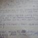 Handwritten lyrics to Will Smith's Wild Wild West Song