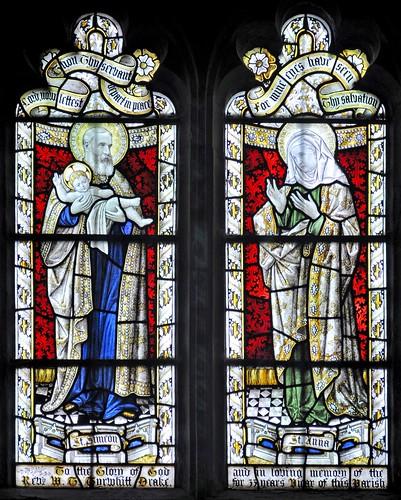 St John Baptist, Great Gaddesden: south aisle 2