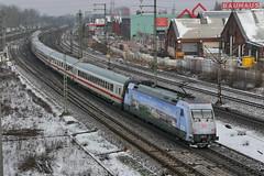 P1490276 (Lumixfan68) Tags: eisenbahn db 101 bahn intercity deutsche zge loks adtranz baureihe elektroloks werbeloks drehstromloks
