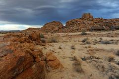 Steppe im Süden Namibias bei Gewitter II