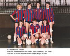 1981-1982 Dames 2