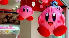 Kirby in Electric Town, Akihabara, Tokyo.